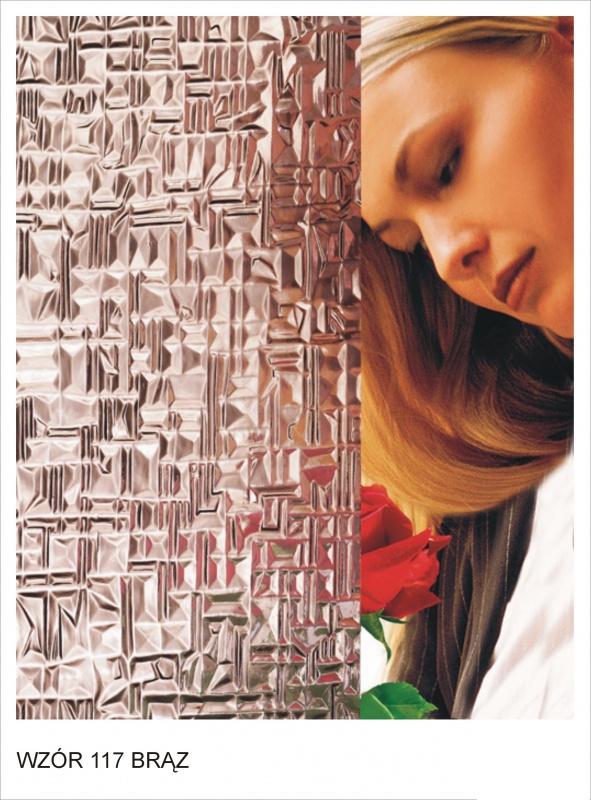 ornament wzor 117 braz krakow mojeszklo szyby ozdobne - Szkło ornamentowe - ozdobne i dekoracyjne