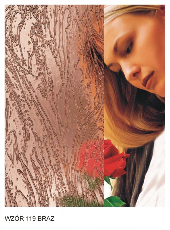 ornament wzor 119 braz krakow mojeszklo szyby ozdobne - Szkło ornamentowe - ozdobne i dekoracyjne