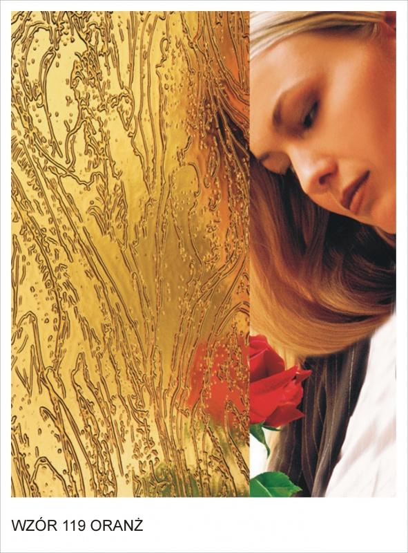 ornament wzor 119 oranz krakow mojeszklo szyby ozdobne - Szkło ornamentowe - ozdobne i dekoracyjne