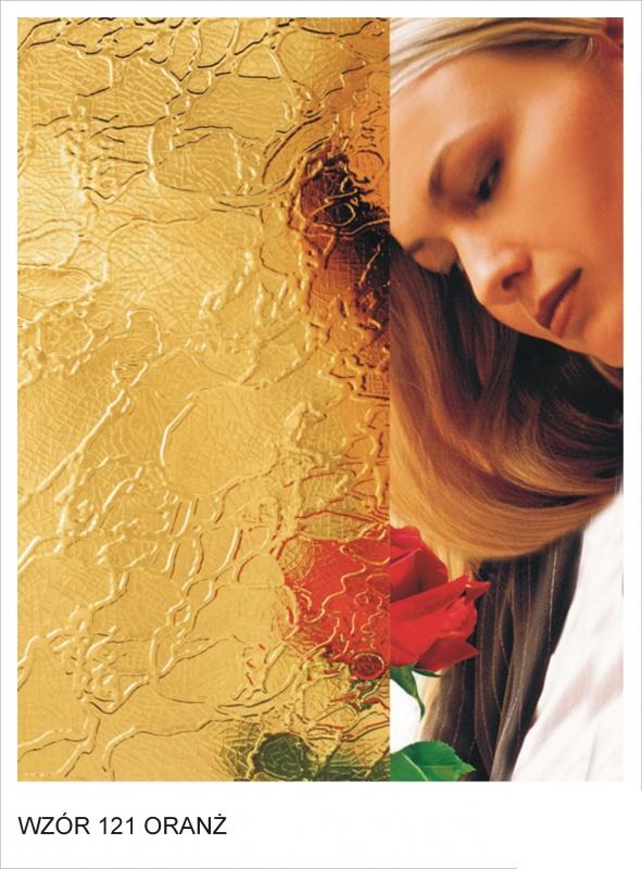 ornament wzor 121 oranz krakow mojeszklo szyby ozdobne - Szkło ornamentowe - ozdobne i dekoracyjne
