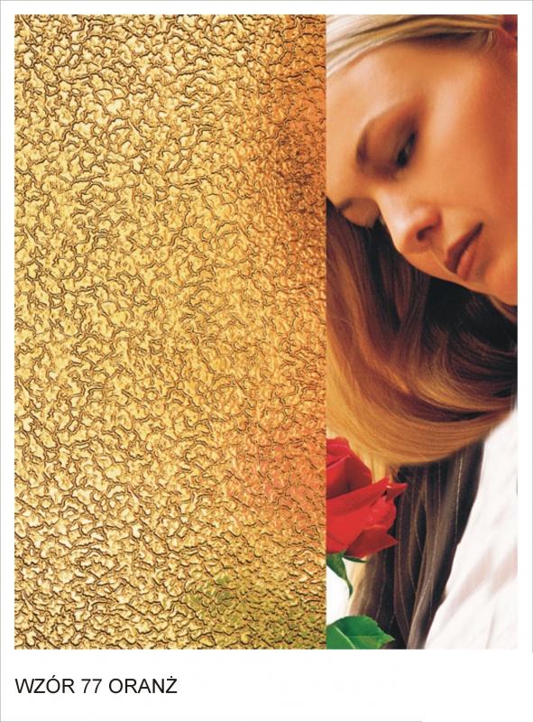 ornament wzor 77 oranz krakow mojeszklo szyby ozdobne - Szkło ornamentowe - ozdobne i dekoracyjne