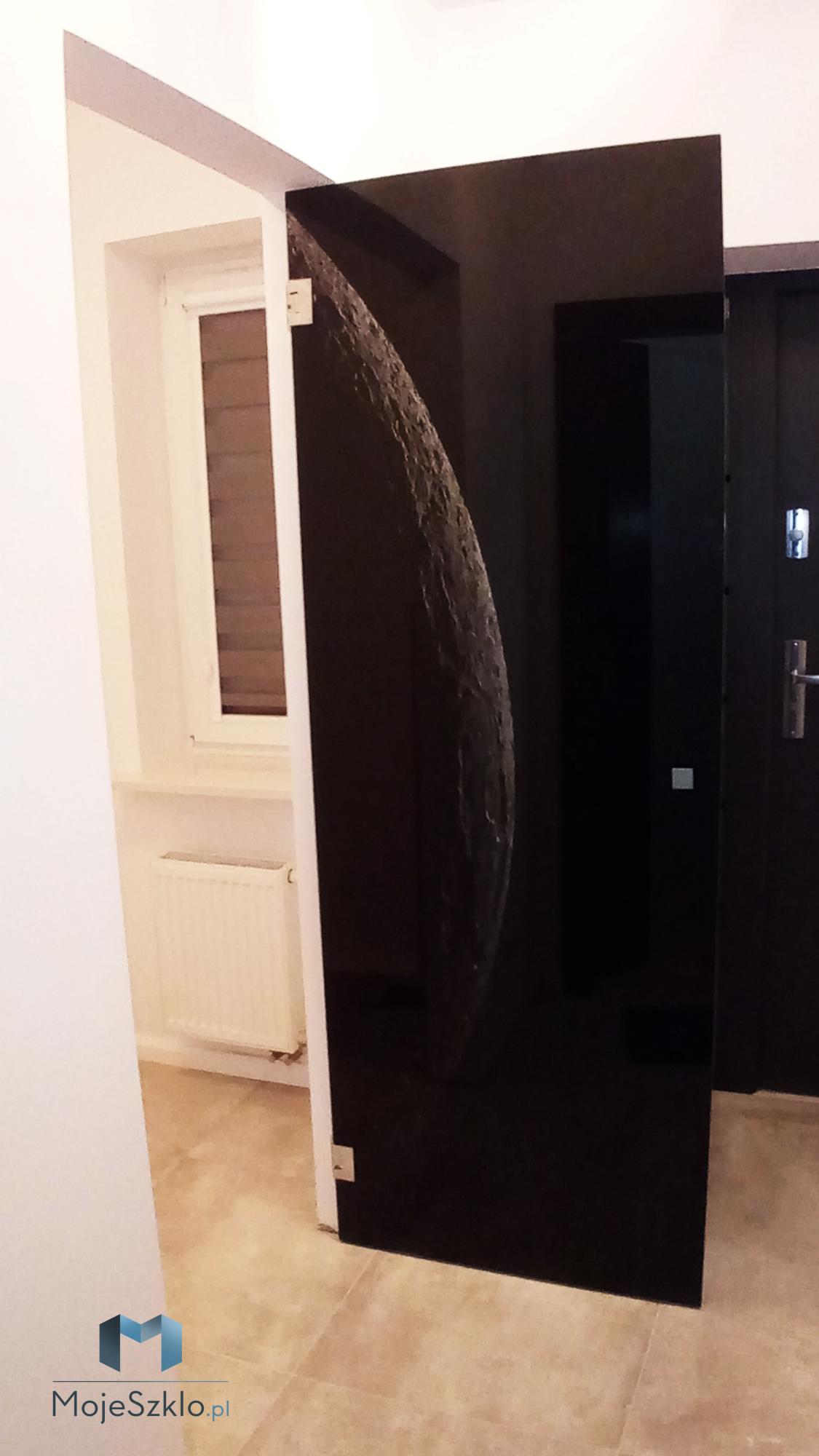 Drzwi szklane z nadrukiem - Krakow Malopolska