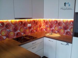 Panele Szklane Szkło Hartowane Na Sciane Grafika Szkle Kuchnia Kule