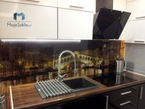 Panele Szklane Szkło Hartowane Na Sciane Grafika Szkle Kuchnia Wenecja 2 Zdunow
