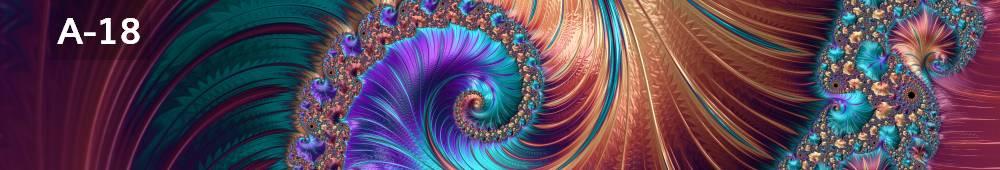 Panele Szklane abstrakcja A18