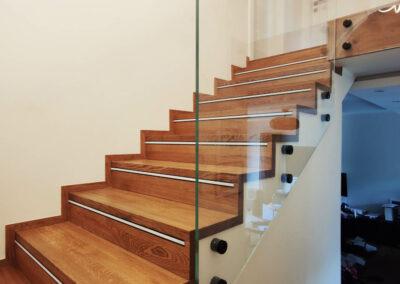 Balustrada Szklana Schody
