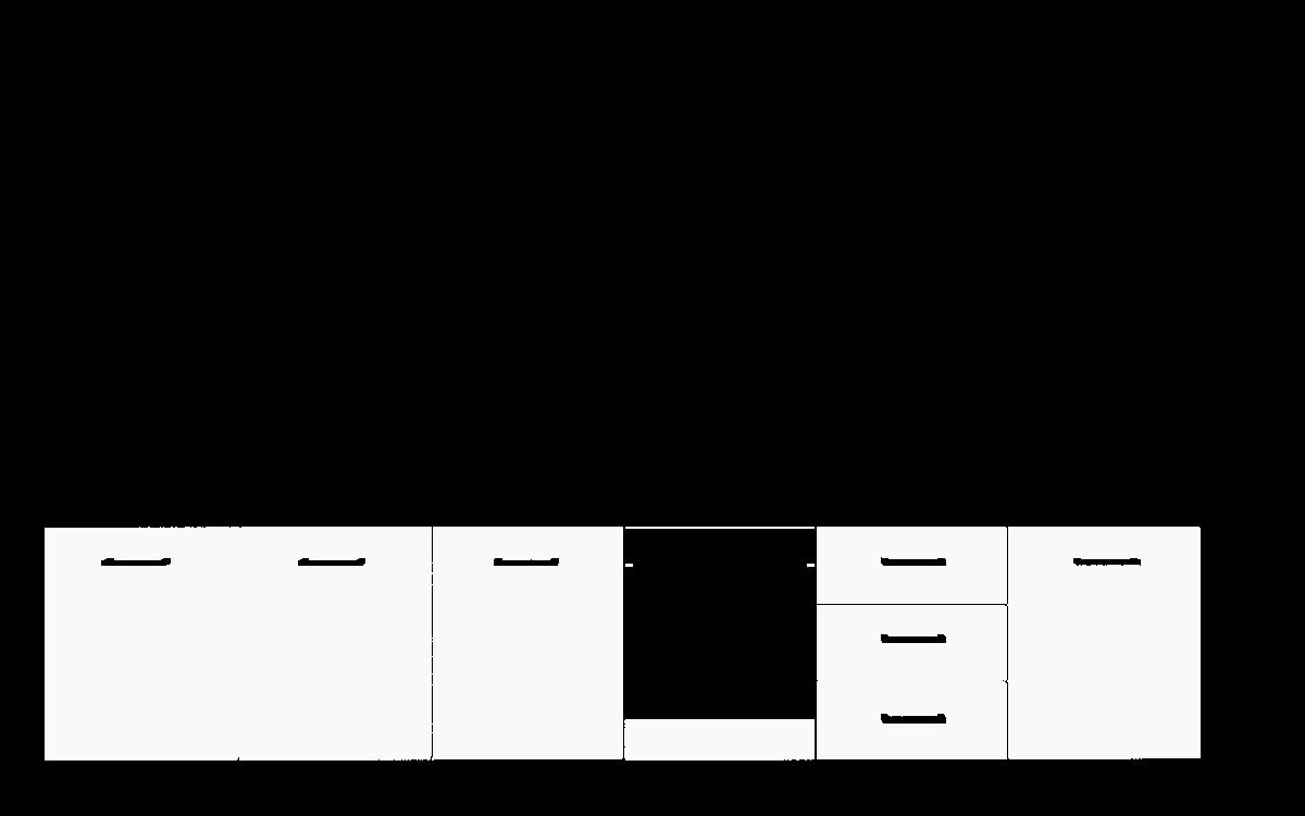 lacobel wzornik wizualizacja szafki