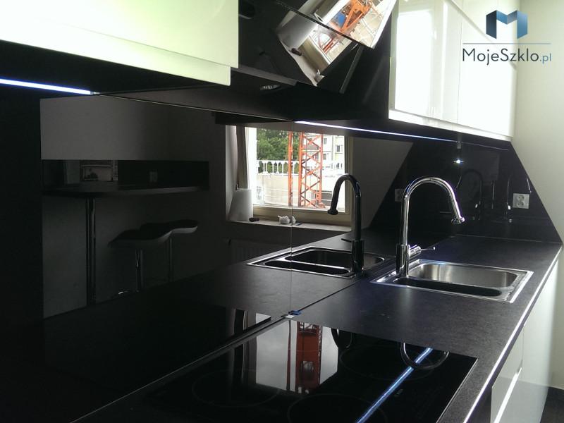 Czarne Panele Szklane Lacobel Do Twojej Kuchni łazienki I