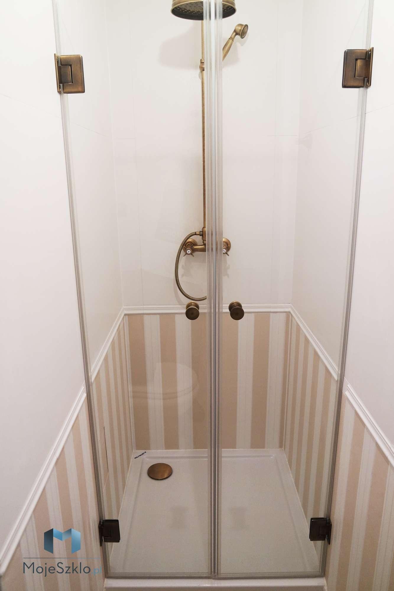 Drzwi Prysznicowe Stare Zloto