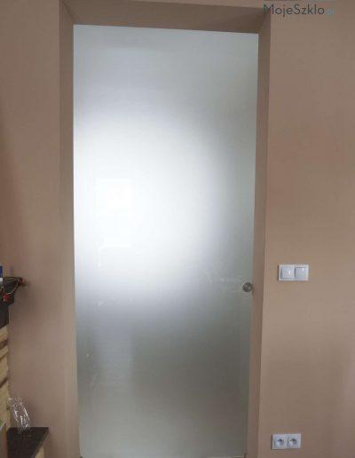 Drzwi Przesuwne Matowe Szklo