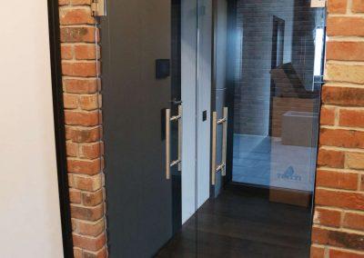 Drzwi Szklane Dwuskrzydlowe Wieliczka