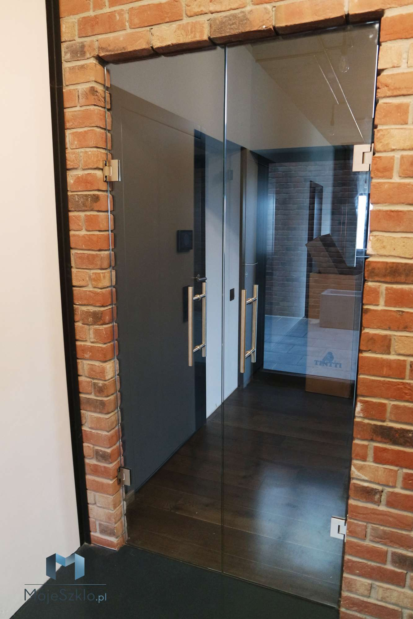 Drzwi Szklane Dwuskrzydlowe Wieliczka - Drzwi szklane dwuskrzydłowe na wymiar