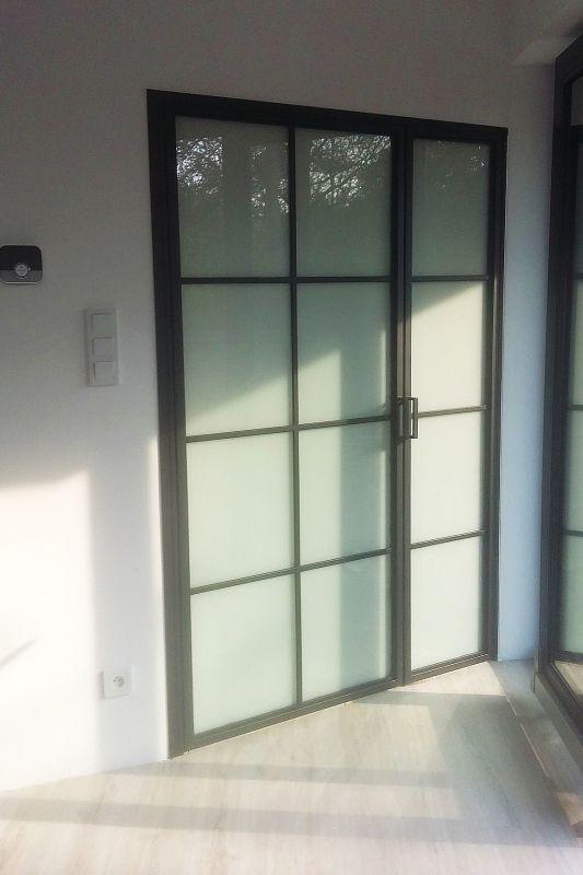 Drzwi Szklane Loftowe Krakow