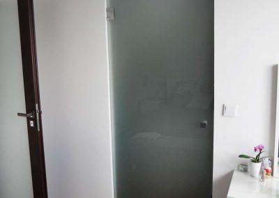 Drzwi Szklane Matowe