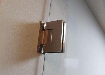 Drzwi Szklane Na Wymiar Zawiasy
