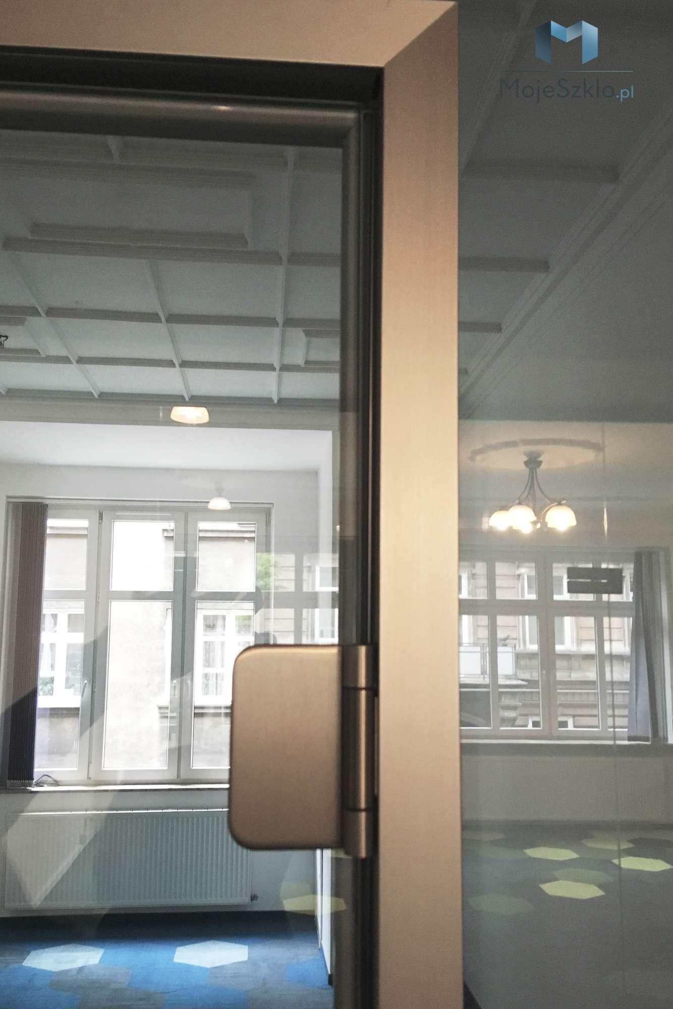 Drzwi Wewnetrzne Szklane Na Wymiar - Drzwi wewnętrzne szklane wahadłowe