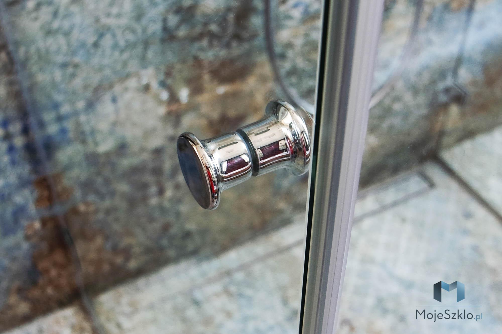 Gałka Do Drzwi Prysznicowych Chrom