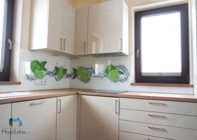 Grafika Na Szkle Kuchnia Limonki