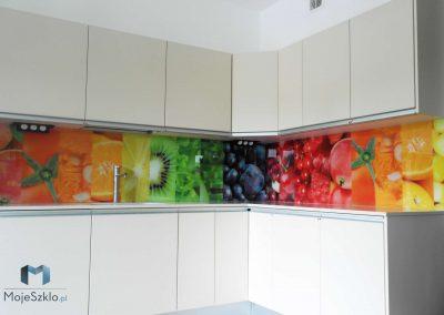 Grafika Na Szkle Kuchnia Owoce