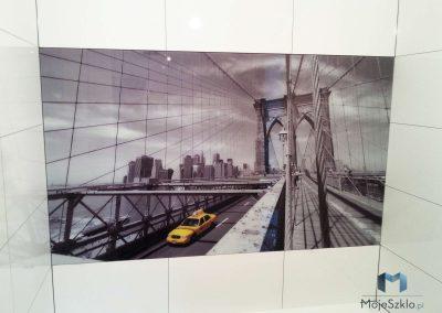 Grafika Na Szkle Most Taksowka
