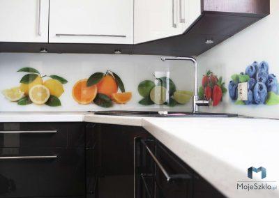 Grafika Na Szkle Owoce Kuchnia