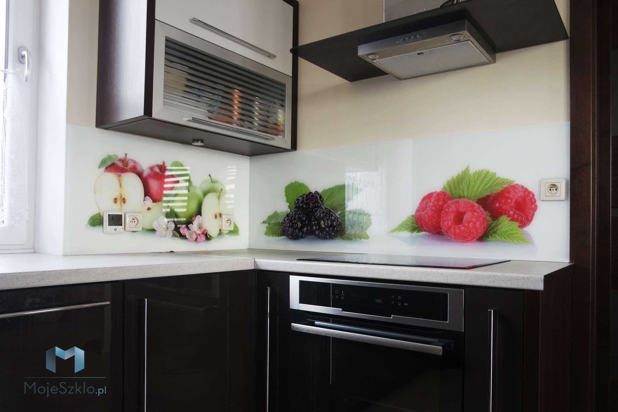 Grafika Na Szkle Owoce - Szkło do kuchni - Motywy warzyw i owoców