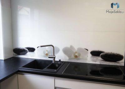 Grafika Szklo Kamienie Kuchnia