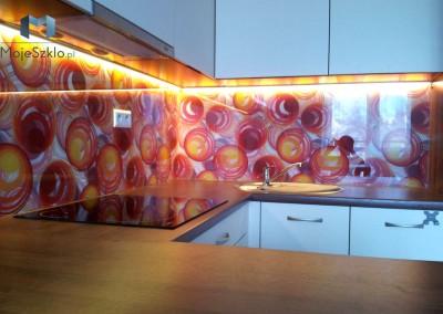 Inspiracje Kuchenne Panele Szklane Oswietlenie Led