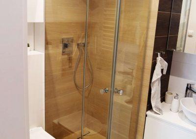Kabina Prysznicowa Narozna Dwudrzwiowa