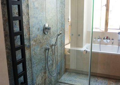 Kabina Prysznicowa Przyscienna Na Wymiar