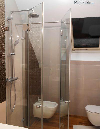 Kabina Prysznicowa Przyscienna Prostokatna