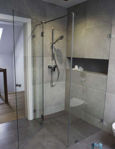 Kabina Prysznicowa Trzyelemntowa Nowa Huta