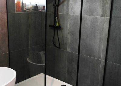 Kabina Prysznicowa W Stylu Lofotowym