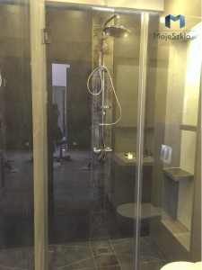 Kabina Prysznicowa z Elementem stalym 2 Krakow Szklo Hartowane