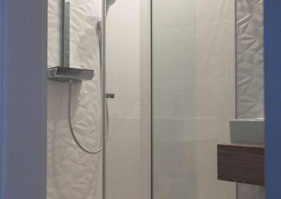 Kabiny Prysznicowe Dwuelementowe Przesuwne Drzwi