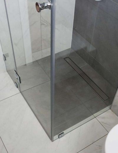 Kabiny Prysznicowe Trzyelementowe