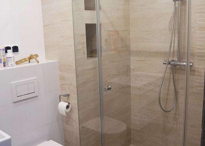 Kabiny Prysznicowe Trzyelementowe Na Wymiar