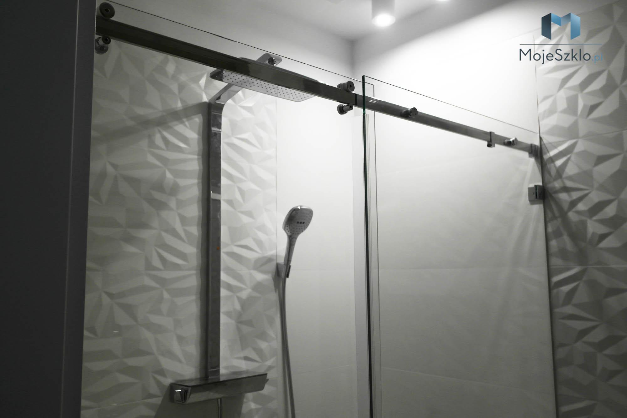 Kabiny Przesuwne Na Wymiar - Kabina prysznicowa przyścienna na wymiar