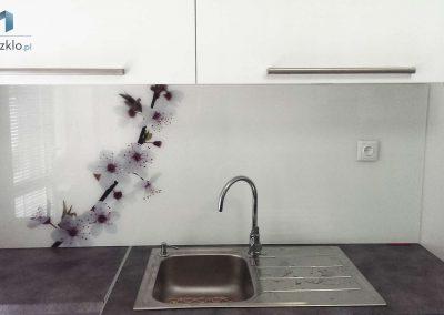 Kwiaty Szyba Do Kuchni