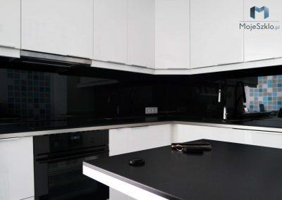 Lacobel Czarny Do Nowoczesnej Kuchni