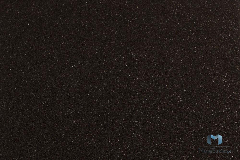 Lacobel Kolory 0337 Gwiazdzista Czern - Czarny lacobel w nowoczesnej kuchni