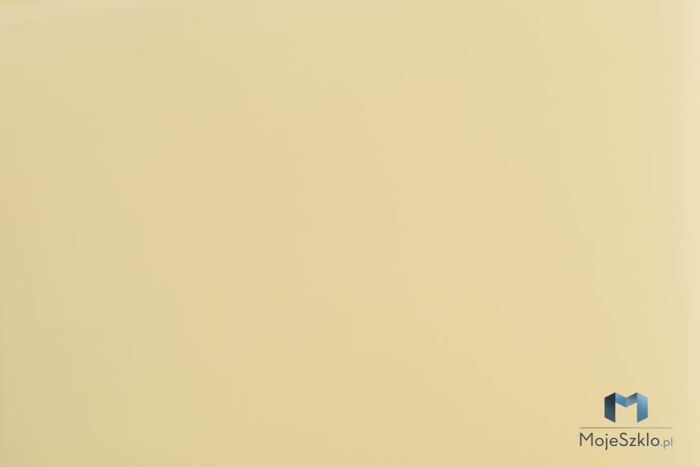 Lacobel Kolory 1014 Klasyczny Bez - Lacobel w kuchni o odcieniach brązu i beżu