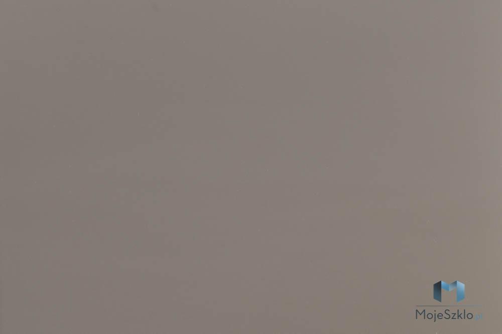 Lacobel Kolory 1236 Jasny Braz - Lacobel w kuchni o odcieniach brązu i beżu