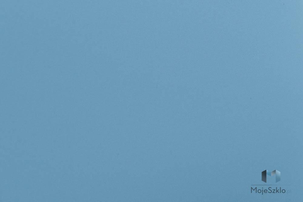 Lacobel Kolory 1435 Niebieski Metaliczny - Szkło kuchenne lacobel w odcieniach niebieskiego