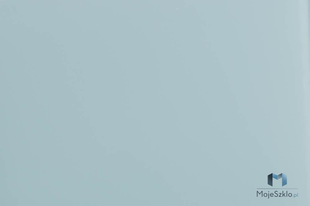 Lacobel Kolory 1603 Pastelowy Niebieski - Szkło kuchenne lacobel w odcieniach niebieskiego