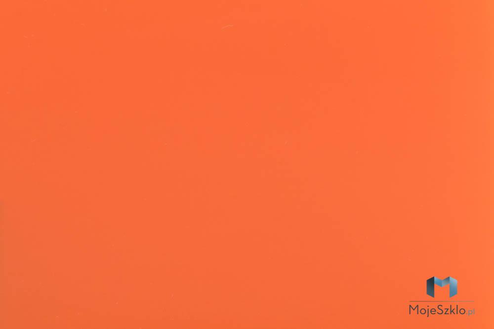 Lacobel Kolory 2001 Klasyczny Pomarancz - Lacobel kolory. Wzornik dostępnych odcieni