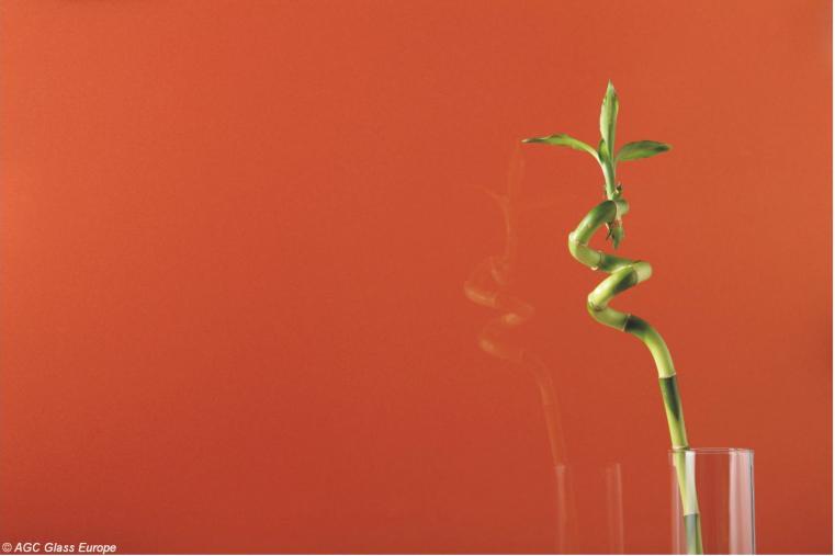 Lacobel Kolory Intensywna Miedz 0128 - Lacobel kolory. Wzornik dostępnych odcieni