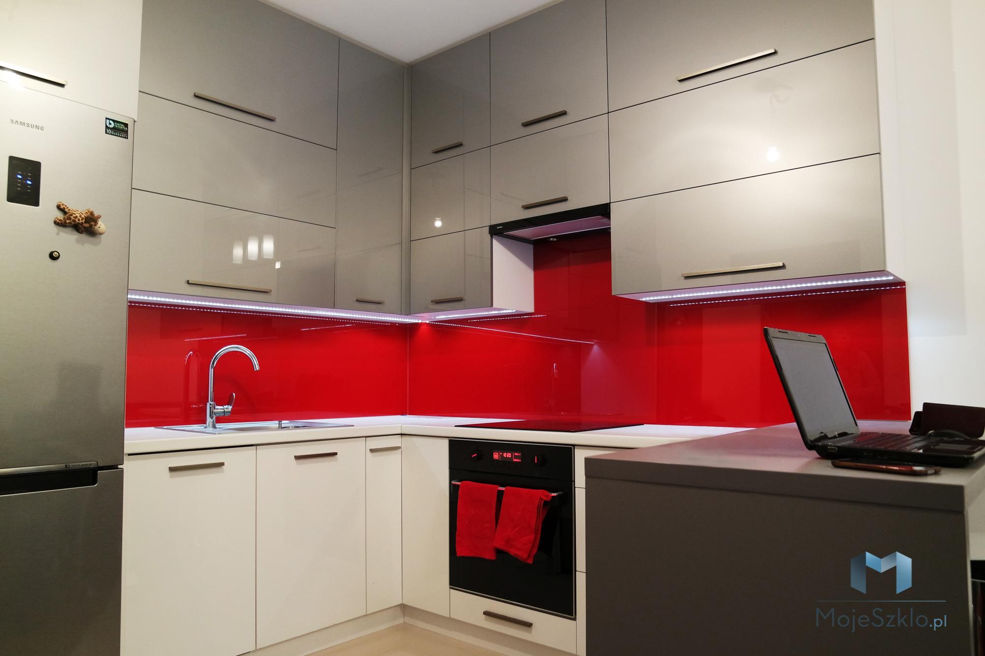 Lacobel Kolory Lsniaca Czerwien - Lacobel kolory. Wzornik dostępnych odcieni