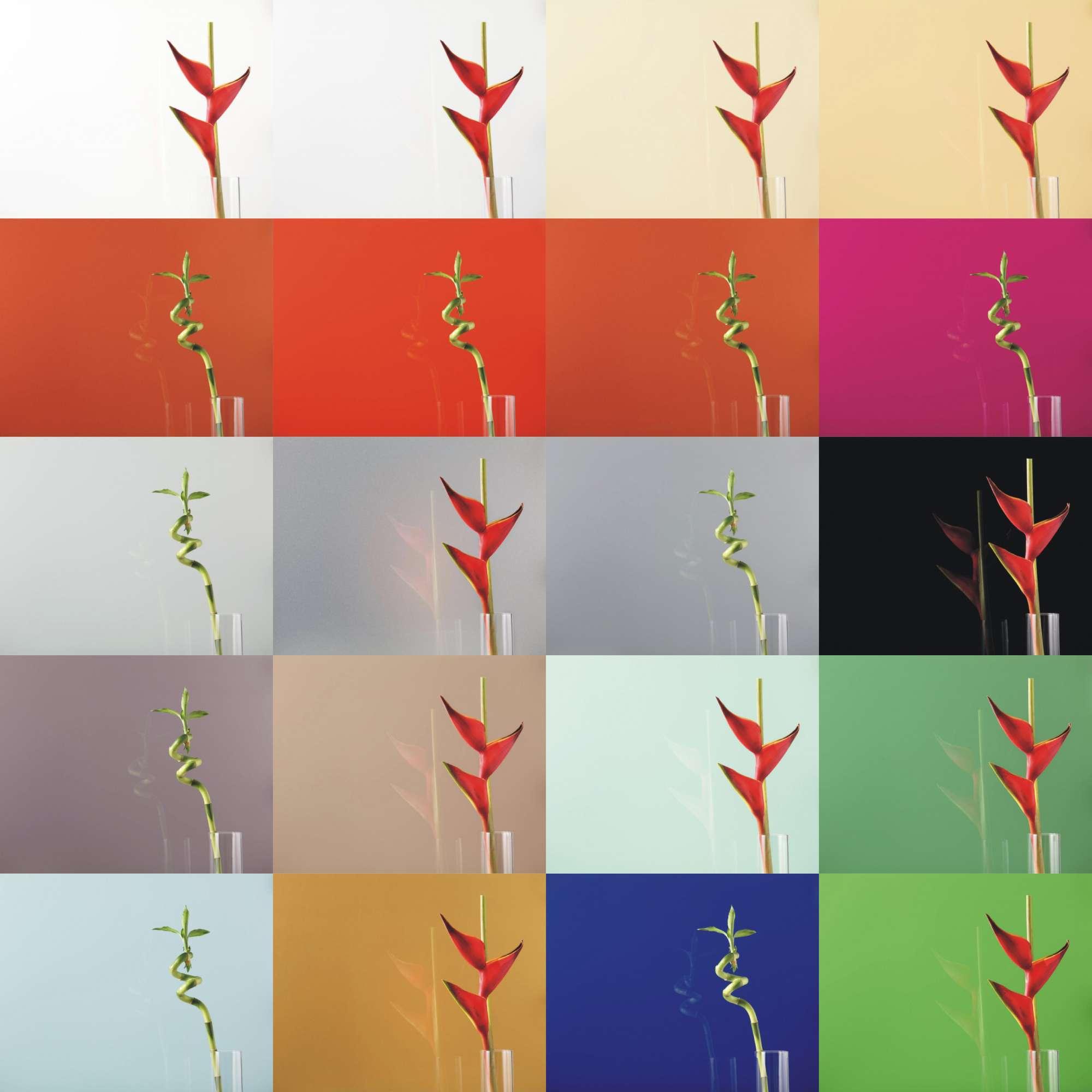 Lacobel Kolory Paleta Kolorow - Lacobel kolory. Wzornik dostępnych odcieni