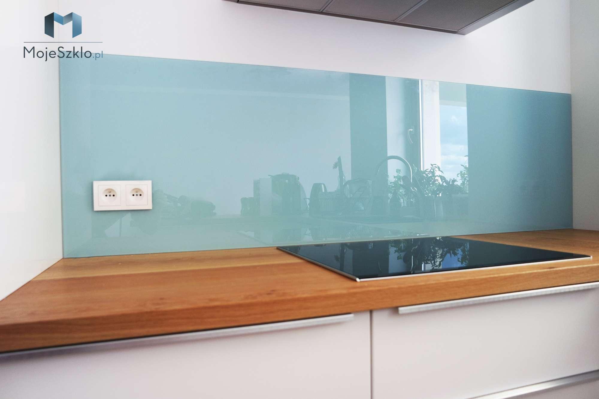 Lacobel Kolory Pastelowy Niebieski - Lacobel kolory. Wzornik dostępnych odcieni